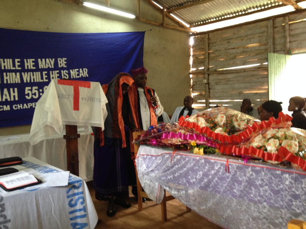 Bishop Kayeeye leads funeral for 14-year-old Bright...